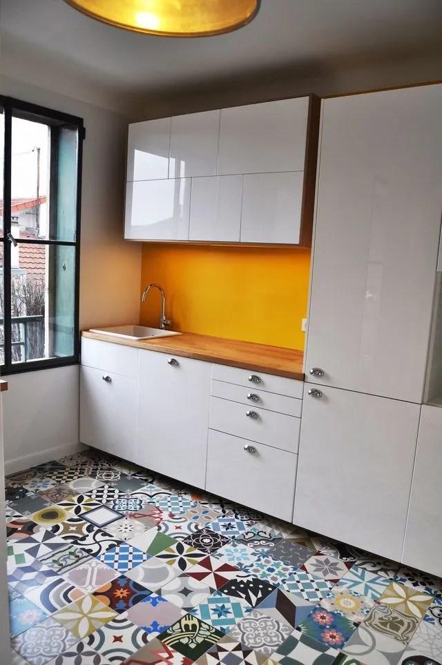 cuisine carreaux ciment 12 photos de