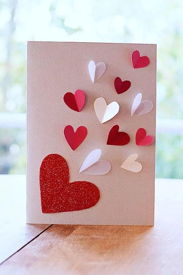 DIY Carte Saint Valentin 5 Modles Faire Soi Mme