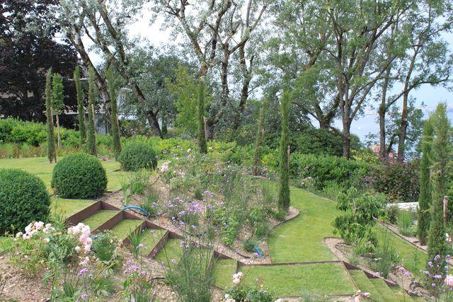 Amenagement D Un Jardin En Pente Cote Maison