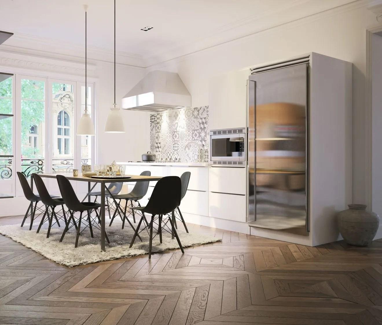 Altbauwohnung Küche Modern