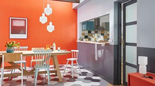 Cuisine Moderne Orange Cuisine Moderne Marbre Cuisine Moderne ...