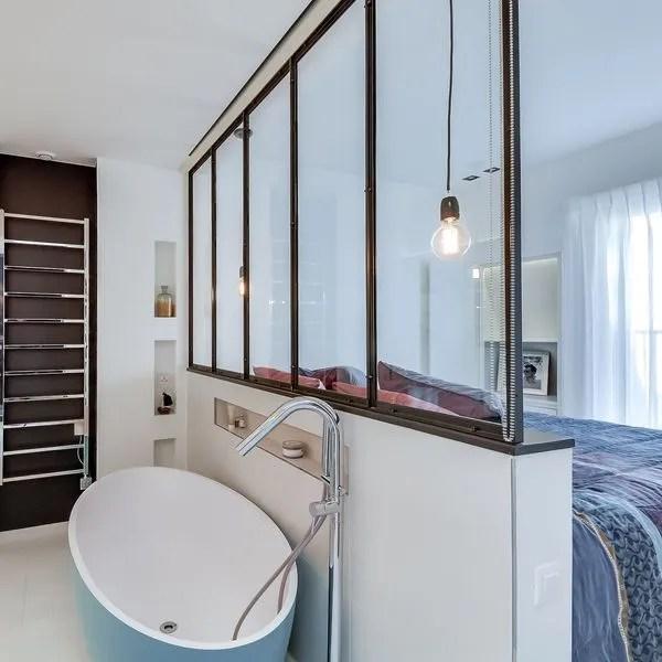 Suite Parentale Chambre Transformee Avec Salle De Bains Et Dressing Cote Maison