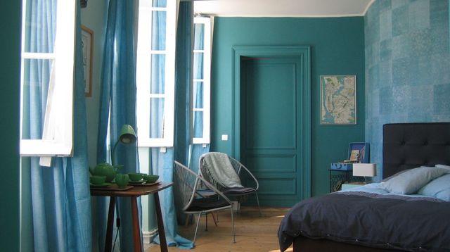 Bleu Dco Peinture Bleue Bleu Ciel Bleu Turquoise