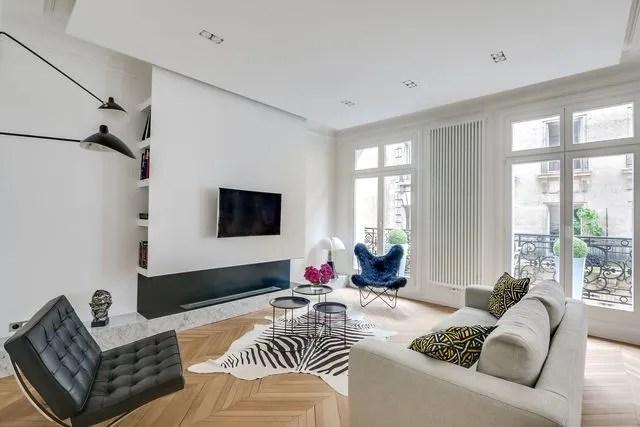 Avantaprs appartement Paris 16  design et charme haussmannien  Ct Maison