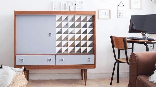avant apres 11 meubles vintage relookes avec brio