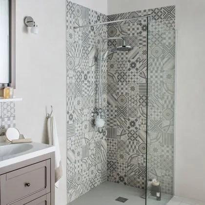 Les plus beaux carrelages muraux pour une salle de bains dco  Ct Maison