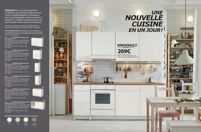 Nouvelle Cuisine Ikea Modle Knoxhult Elments Muraux Une Tablette Et Des Charnires Par