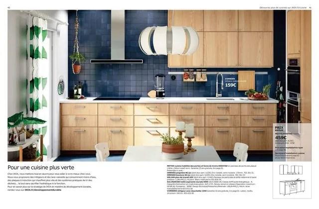 Ikea Cuisine Metod Habillee Des Portes Et Faces De Tiroirs Ekestad En Panneau De Particules Plaque Chene