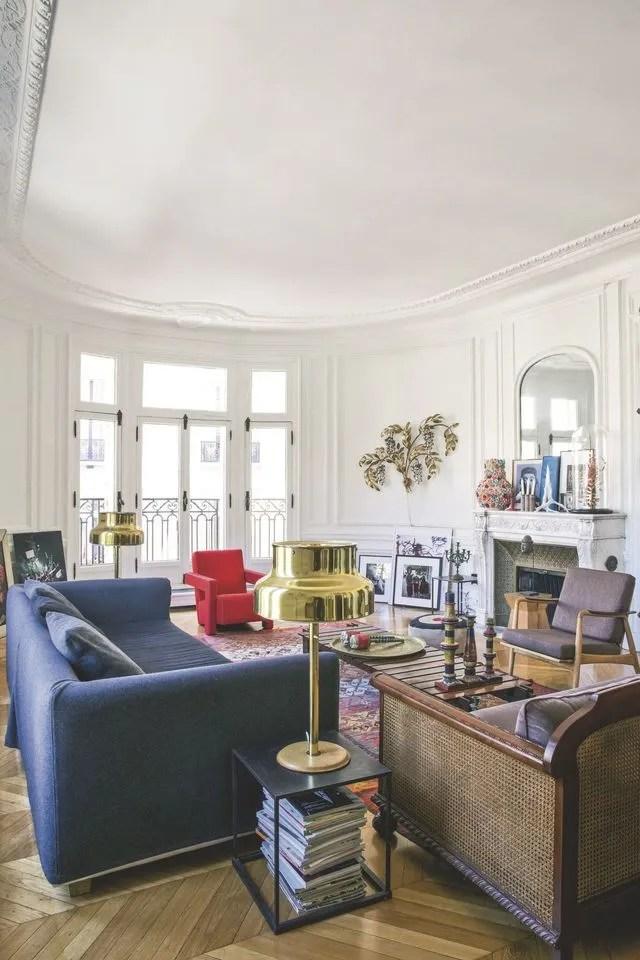 Appartement Haussmannien Lappart La Dco Chic Et Broc