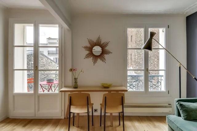 Appartement Paris 18 Un 30 M2 Au Look Rtro Prs Du