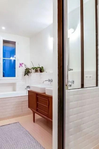agrandir adopter la verriere comme separation deco entre douche et baignoire