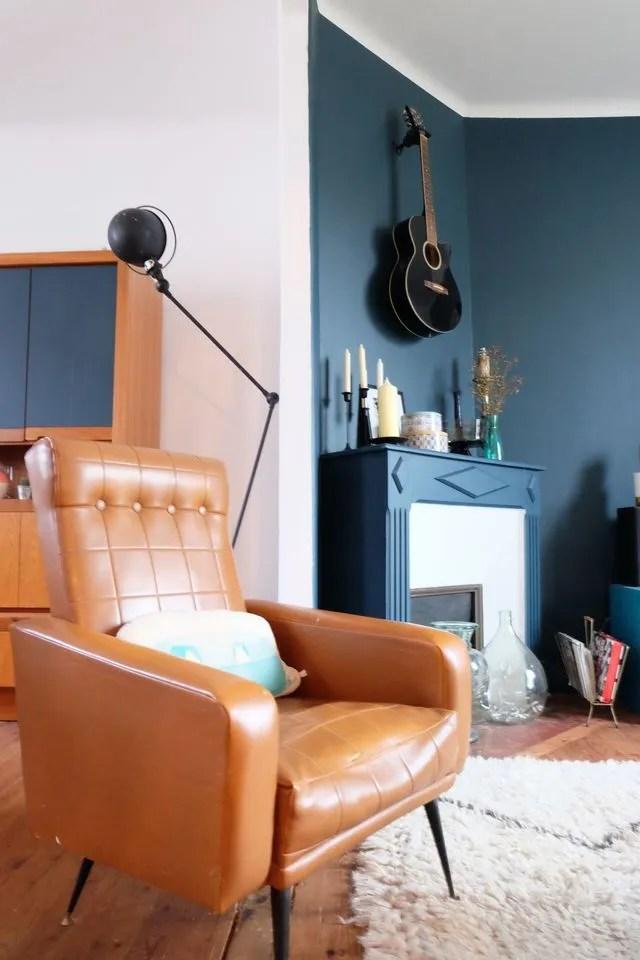 Bleu marine fonc  la couleur qui booste la dco  Ct Maison