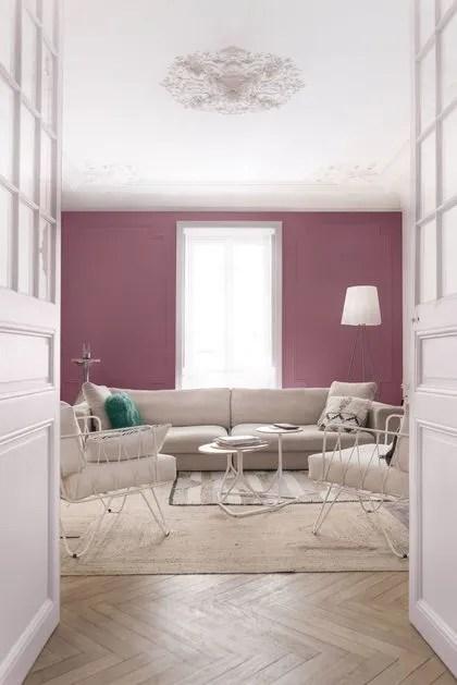Peinture salon  30 couleurs tendance pour repeindre le salon  Ct Maison