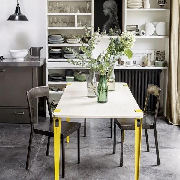 agrandir la salle a manger aime le mobilier interchangeable