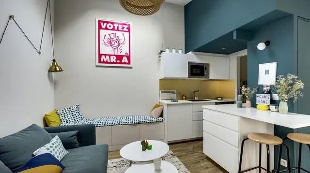Petit Appartement Et Studio Parisiens Nos Plus Belles