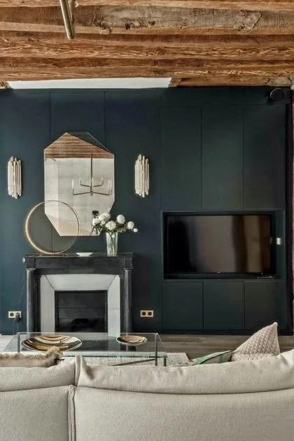 40 Idees De Cheminees Pour Un Salon Chaleureux Cote Maison