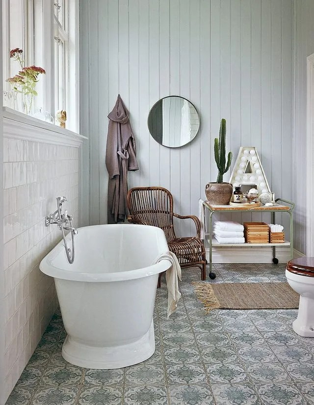 salle de bain tendance recup cote maison