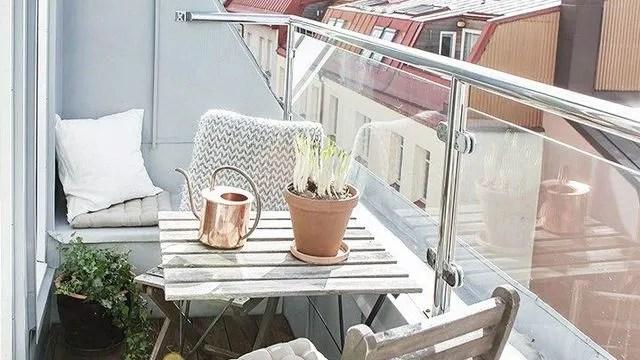 amenager un petit balcon idees