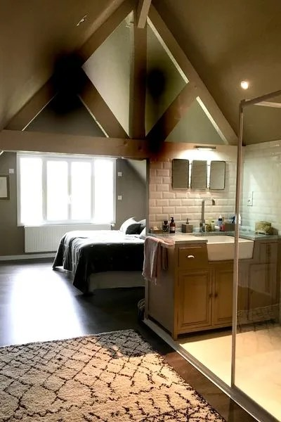 chambre salle de bains cuisine salon