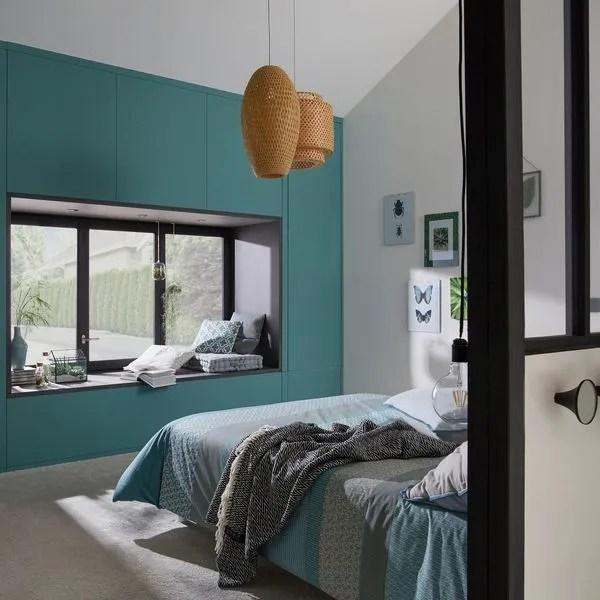 Peinture chambre en couleurs  Ct Maison