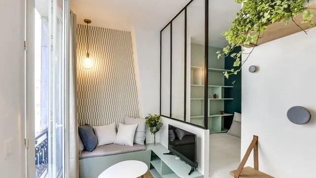 Petit appartement et studio parisiens  nos plus belles ralisations  Paris  Ct Maison