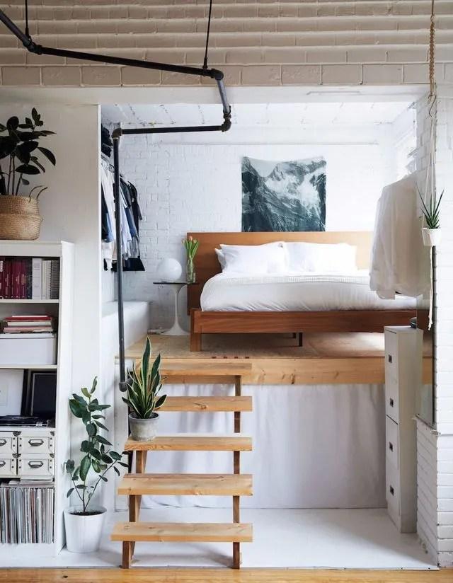 amenager une chambre dans un salon