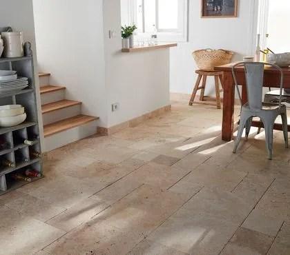 Revtement sol cuisine  19 modles de sol pour une cuisine au top  Ct Maison