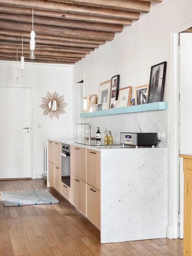 Amnager sa cuisine dans couloir  exemples  Ct Maison