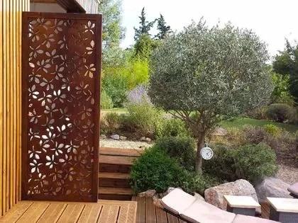 Palissade claustra  quelle clture protge mon jardin des voisins   Ct Maison