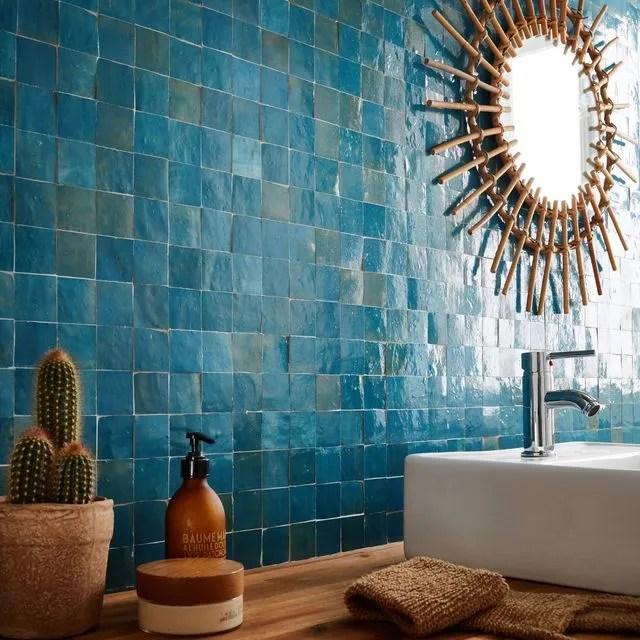 mosaique salle de bain laquelle