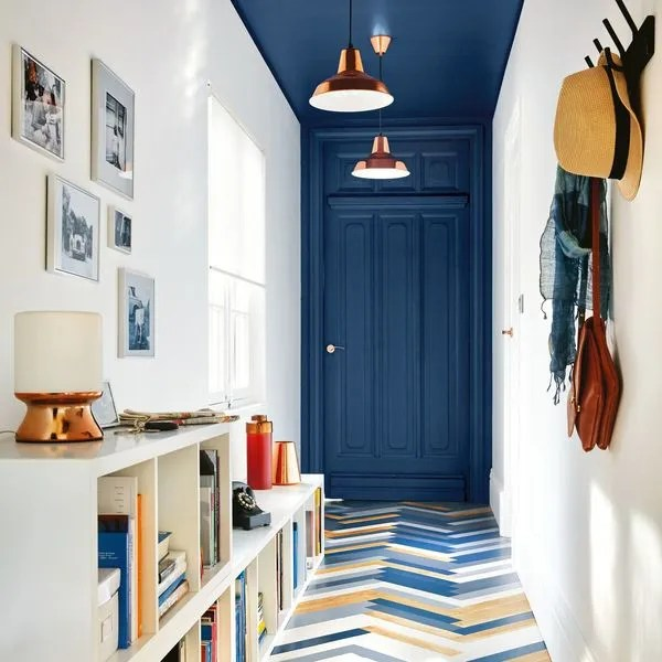 Peinture couloir  ides de couleurs  Ct Maison