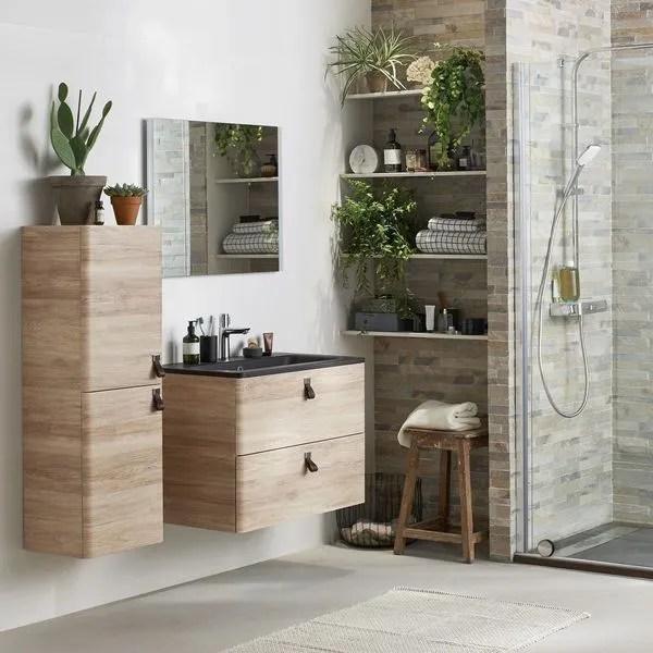 agrandir un meuble sous vasque suspendu esprit nature