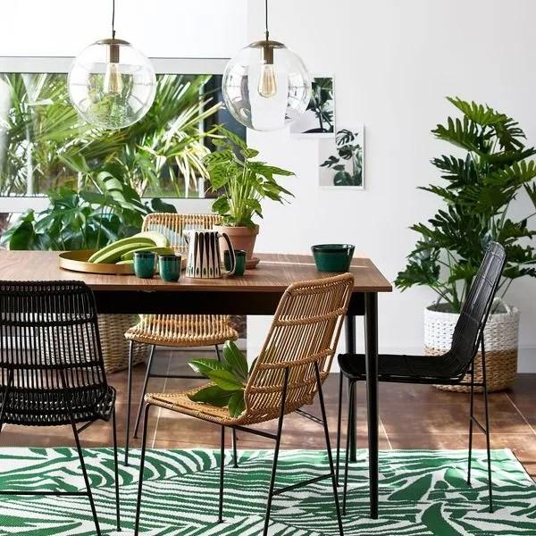 agrandir nouveautes la redoute interieurs dejeuner en jungle tropicale