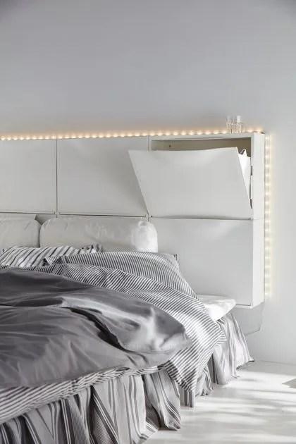 agrandir une tete de lit fonctionnelle et discrete