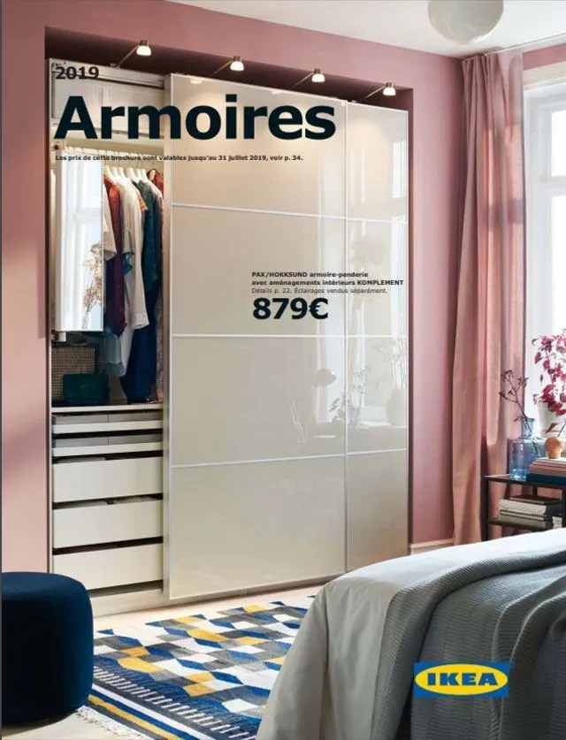 catalogue armoires et dressings ikea