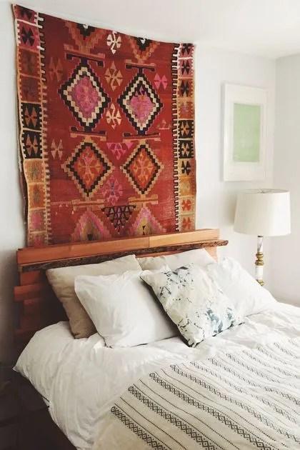 tenture murale chambre tete de lit