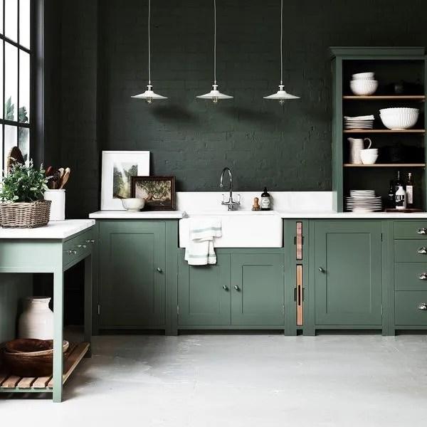 cuisine verte la tendance du vert en