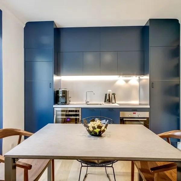 cuisine bleue la tendance du bleu en