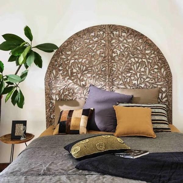 agrandir une tete de lit orientale chez maisons du monde