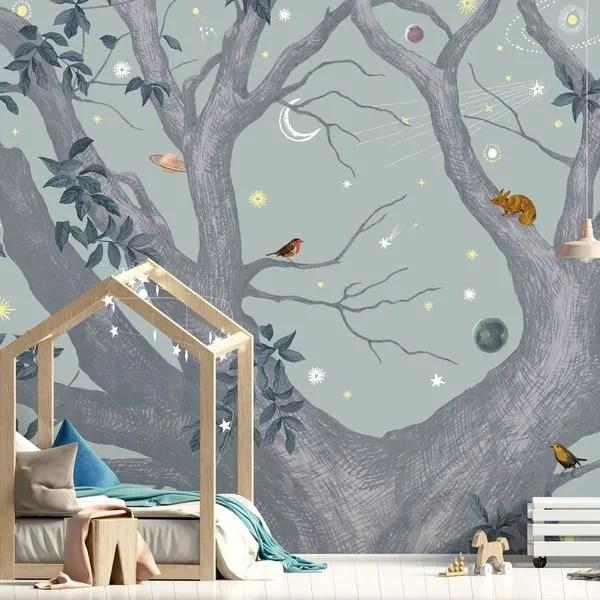 papier peint chambre enfant modeles