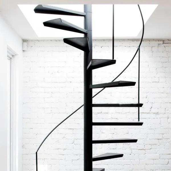 escalier colimacon cote maison