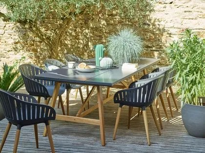 table et chaise de jardin place a la