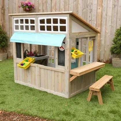cabane enfant modeles pour le jardin