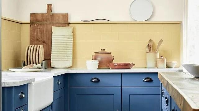 peinture cuisine bonnes couleurs