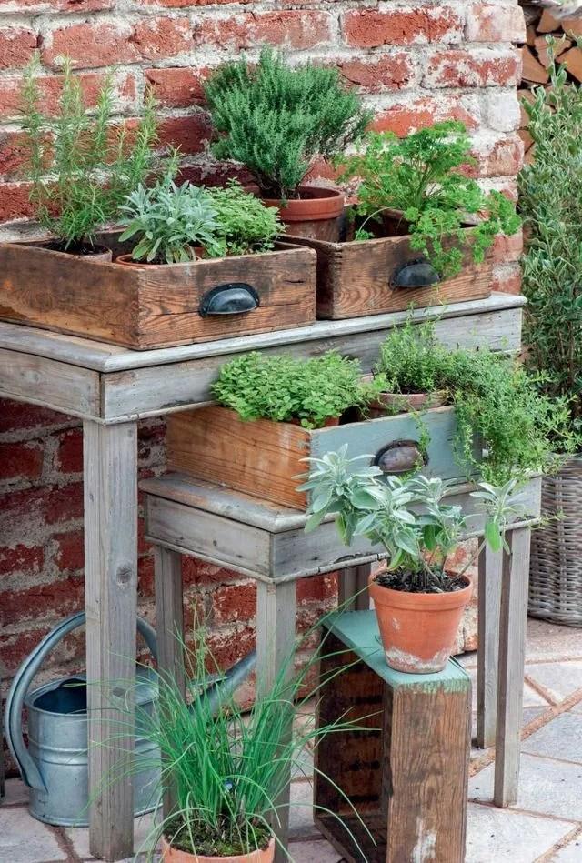 idee recup et diy pour un jardin deco
