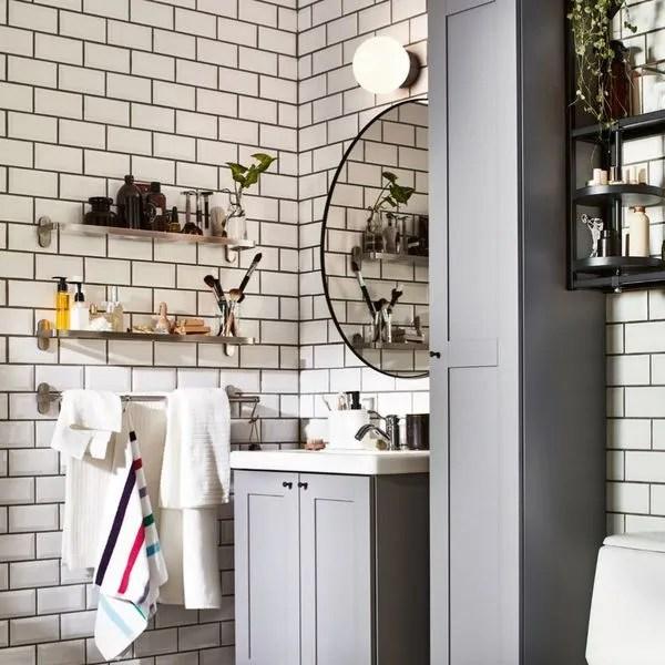 meuble salle de bain ikea les