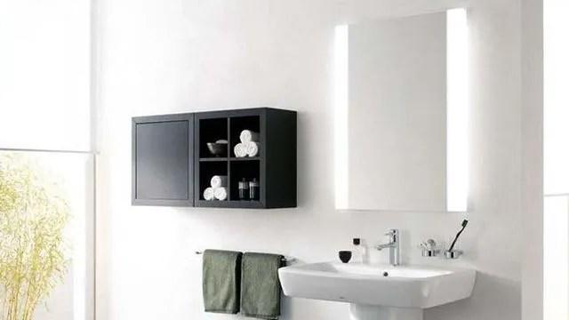 Salle De Bains Bon Eclairage Miroir Supensions Leds Cote Maison
