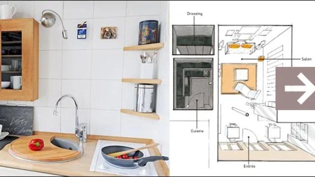 plan appartement 50m2 duplex