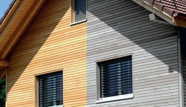 Bardage en bois  effet neuf ou patin   Ct Maison