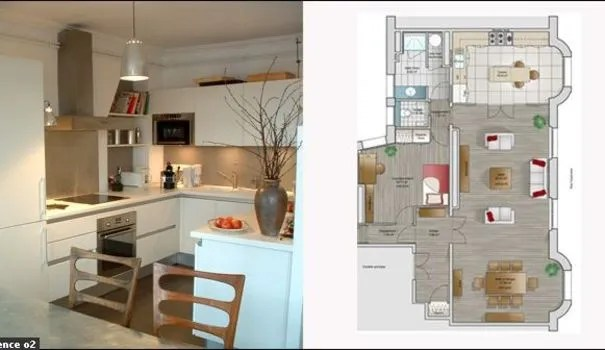 14 Plans Pour Moderniser Un Appartement Ct Maison